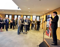 A meeting was held at the UK Embassy for welcoming the scholarship recipients